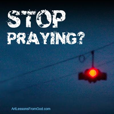stoppraying