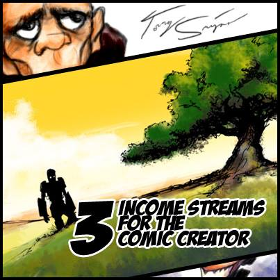 comics income